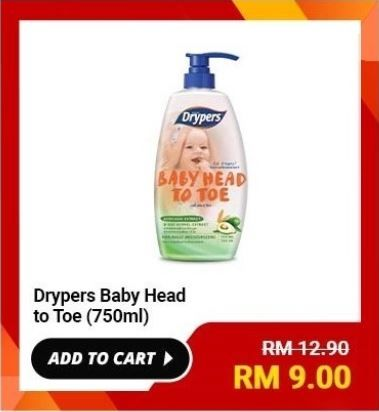 Drypers-Baby-Head-to-Toe-750ml